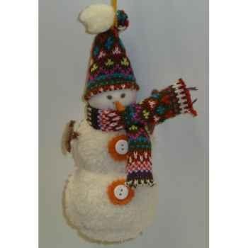 Fig a susp bonhom neige 22cm Peha -TR-29845