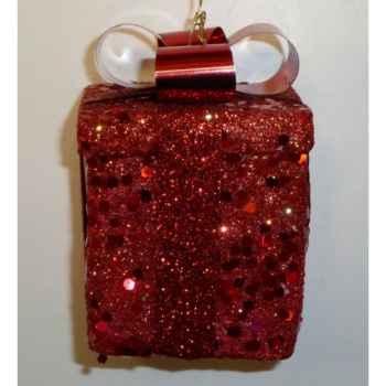 Fig à susp cadeau 7cm rouge Peha -TR-30215