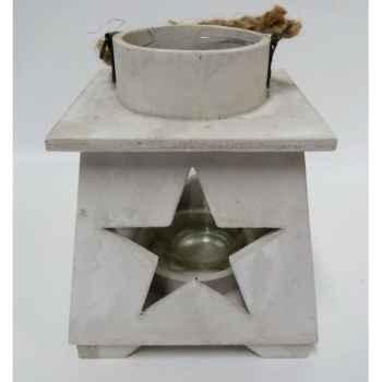 Lanterne blanc 16cm Peha -TR-31237