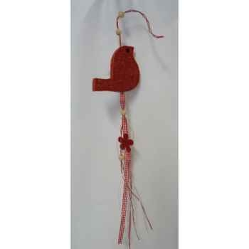 Suspension oiseau rouge Peha -TR-32000