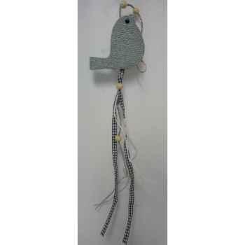 Suspension oiseau gris Peha -TR-32010