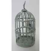 suspension cage oiseau 17cm gris peha tr 32060