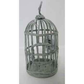 Suspension cage oiseau 17cm gris Peha -TR-32060