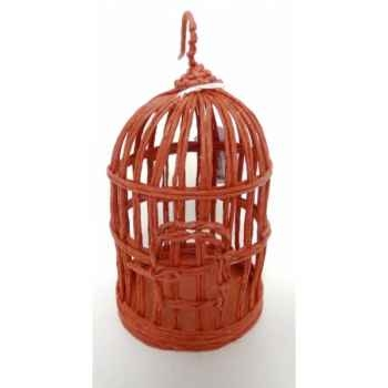 Suspension cage oiseau 20cm rouge Peha -TR-32080