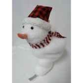 bonhomme de neige sur ski 28cm peha tr 34205