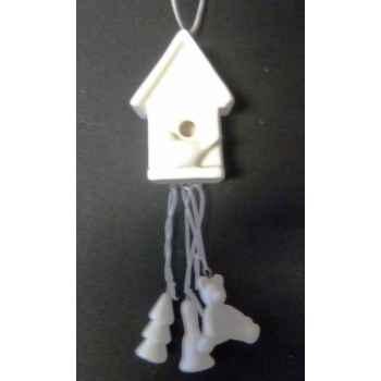 Fig à susp cage oiseau 5,5cm blanc Peha -TR-35890
