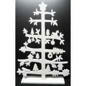 sapin en bois 505cm blanc peha tr 35955