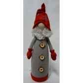 pere noe29cm gris rouge peha tr 36450