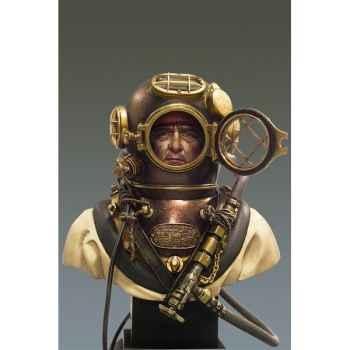 Figurines - Buste  Plongeur de l'armée nord-américaine en 1941 - S9-B20