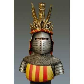 Figurines - Buste  Jaime I en 1208-1276 - S9-B22