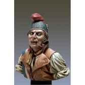 figurines buste le sans culotte en 1793 s9 b23