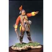 figurine guerrier mohawk ii s4 f21