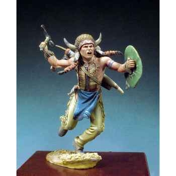 Figurine - Guerrier sioux  1860 - S4-F34