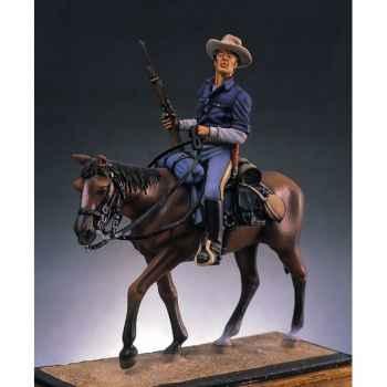 Figurine - Cavalier armée E.-U. en 1880 - S4-S3