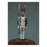 figurine grenadier de la garde imperiale en 1810 garde a vous na 001