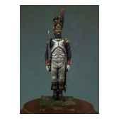 figurine officier des grenadiers de la garde imperiale en 1810 garde a vous na 002
