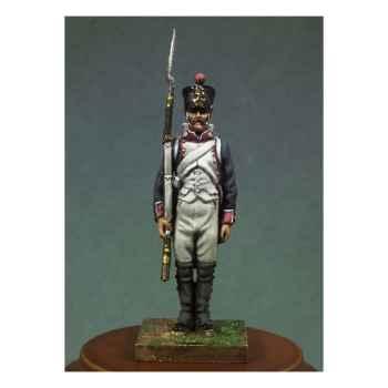 Figurine - Soldat d'infanterie de ligne en 1810 . Garde-à-vous ! - NA-004
