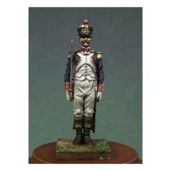 Figurine - Officier d'infanterie de ligne en 1810 . Garde-à-vous ! - NA-005