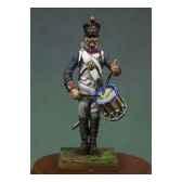 figurine tambour d infanterie de ligne en 1810 garde a vous na 006