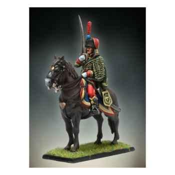 Figurine - Officier de Hussards à Cheval - NA-014