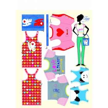 Toppy love Dress Your Doll -S111-0902