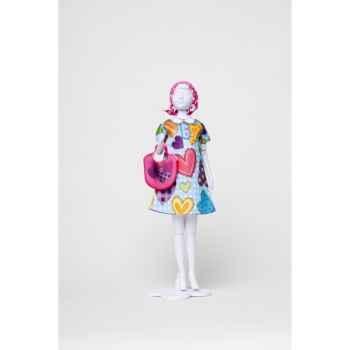 Twiggy hearts Dress Your Doll -S212-0307