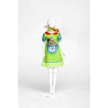 Twiggy kitten Dress Your Doll -S213-0310