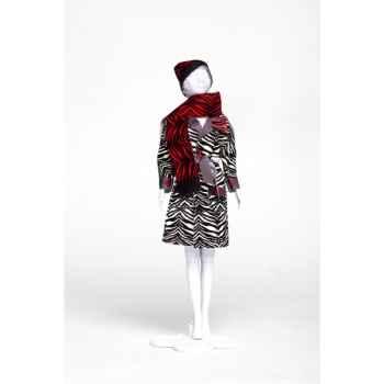 Judy zebra Dress Your Doll -S213-0606