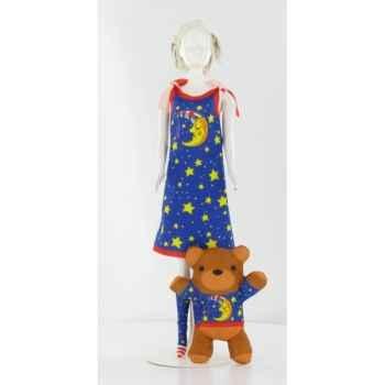 Sleepy moon Dress Your Doll -S210-0402