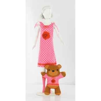 Sleepy roses Dress Your Doll -S210-0403