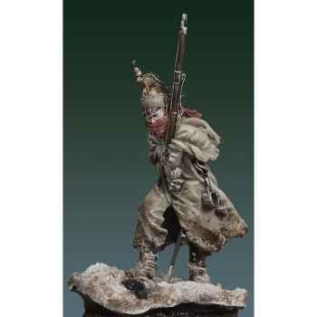 Figurine - Dragon français en capote en 1812 - S7-F33