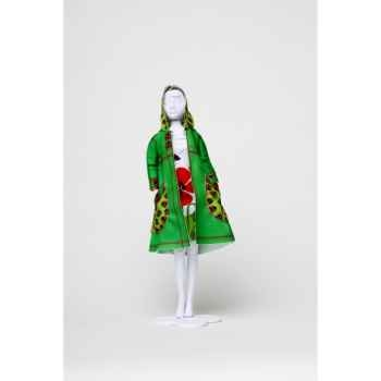 Fanny ladybug Dress Your Doll -S412-0404
