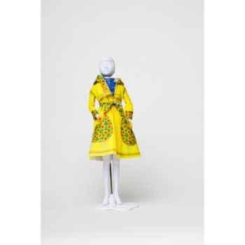 Fanny sun flowers Dress Your Doll -S412-0402