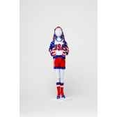 sporty stars stripes dress your dols412 0204