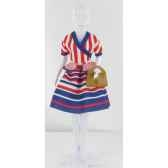 steffi stripes dress your dols411 0103