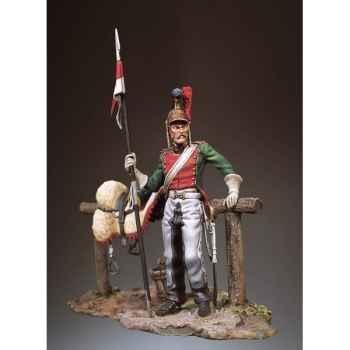 Figurine - Lancier français en 1812 - S7-F25