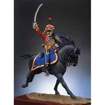 Figurine - Lieutenant des hussards - S7-F15