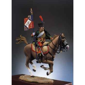 Figurine - Hussard porte-étendard - S7-F11