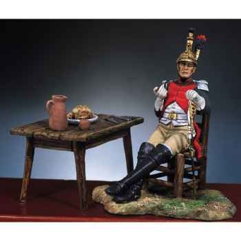 Figurine - Officier français  4e dragons en 1812 - S7-F10
