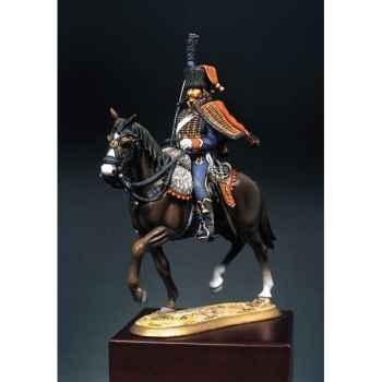 Figurine - Hussard du 4e régiment  1813  - S7-F2