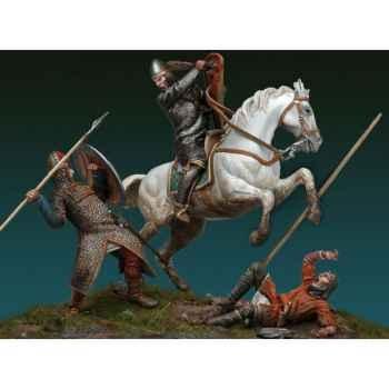 Figurine - Ensemble La Bataille de Hastings, 1066 AP. J.-C - SM-S07