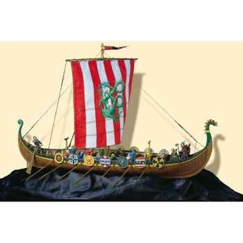Figurine - Ensemble Drakkar viking - SM-S04