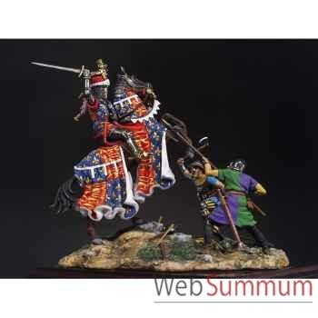 Figurine - Ensemble Le Prince noir à Crécy en 1346 - SM-S01