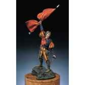 figurine lansquenet porte etendard s2 f9