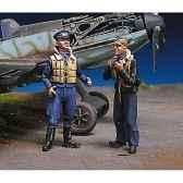 figurine pilotes allemands au repos iii sw 09