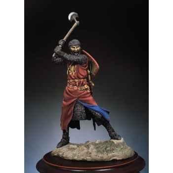Figurine - Chevalier armé d'une hache - SM-F23