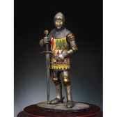 figurine chevalier anglais en 1400 sm f31