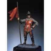 figurine chevalier francais en 1350 sm f36