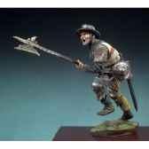 figurine hallebardier bataille d azincourt en 1415 sm f45