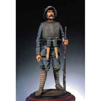 Figurine - Fantassin allemand portant une armure - S3-F7